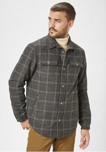 Redpoint Outdoorjacke »Frank«, Hemdjacke grosskariert mit leichter Innenwattierung kaufen