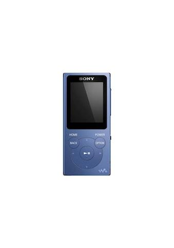 Sony MP3-Player »Walkman NW-E394L Blau« kaufen