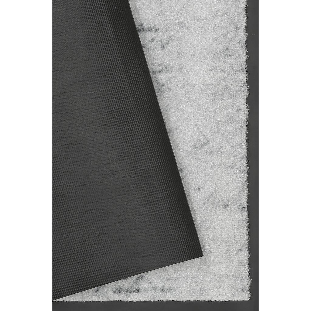 HANSE Home Fussmatte »Krone«, rechteckig, 9 mm Höhe, Fussabstreifer, Fussabtreter, Schmutzfangläufer, Schmutzfangmatte, Schmutzfangteppich, Schmutzmatte, Türmatte, Türvorleger