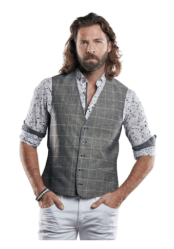 emilio adani Sakkoweste aus leichtem Baumwoll - Leinen - Gemisch kaufen