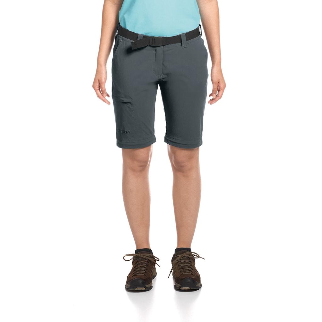 Maier Sports Funktionshose »Inara slim zip«, Schmal geschnittene Wanderhose, atmungsaktiv und schnelltrocknend