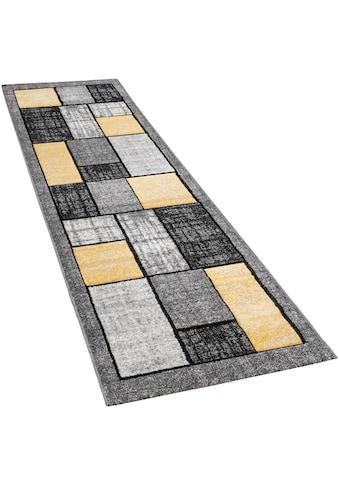 Paco Home Läufer »Pattern 125«, rechteckig, 18 mm Höhe, Teppich-Läufer, Kurzflor, gewebt kaufen