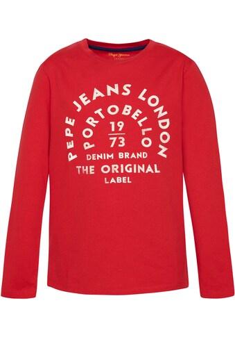 Pepe Jeans Langarmshirt »ANTONI« kaufen