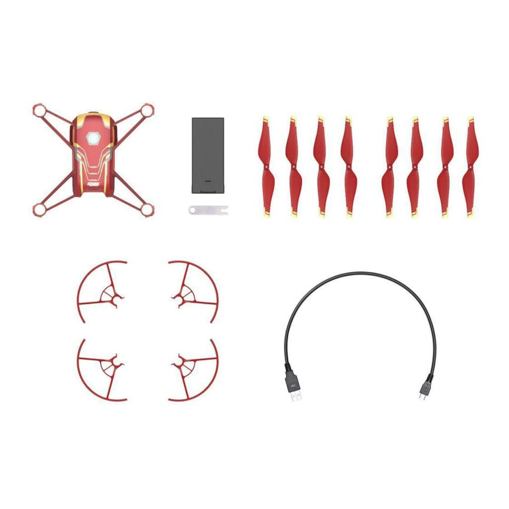 Multikopter, DJI, »Tello Iron Man Edition«