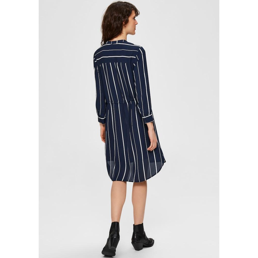 SELECTED FEMME Blusenkleid, mit floralem Alloverprint