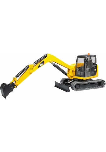 Bruder® Spielzeug-Bagger »CAT Minibagger, 1:16, gelb«, Made in Europe kaufen