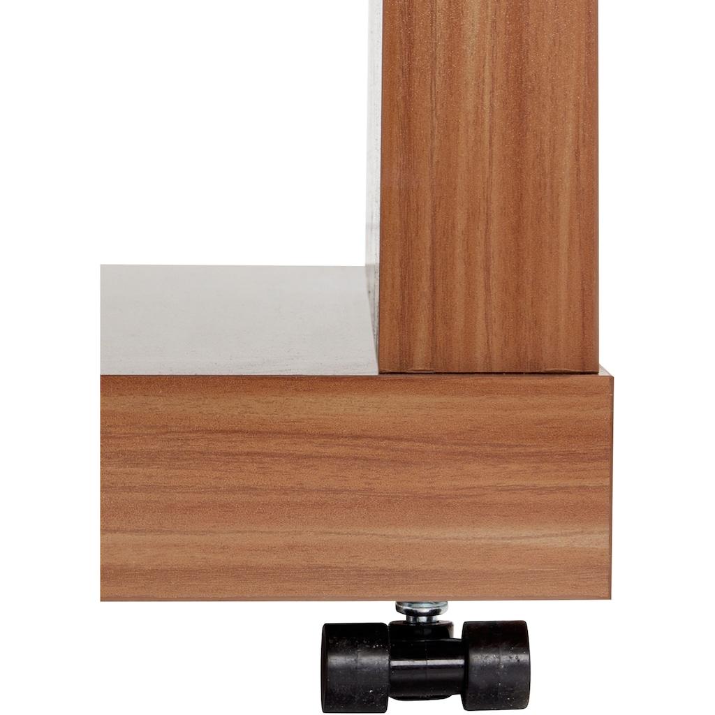 PRO Line Couchtisch, mit LED-Beleuchtung, auf Rollen