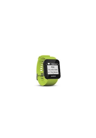 Garmin Fitnessuhr »GPS-Sportuhr Forerunner 35 Limelight Grün Schwarz«,  kaufen