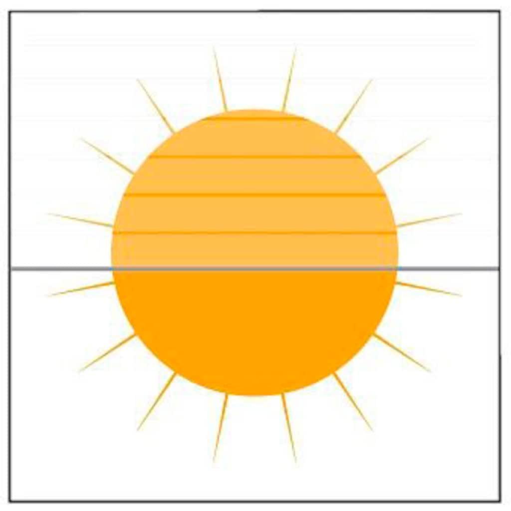 sunlines Plissee nach Mass »Young Style Watercolour«, Lichtschutz, verspannt