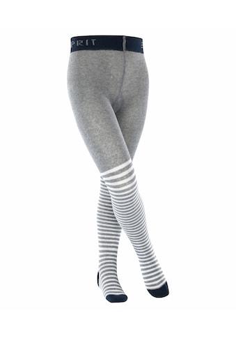 Esprit Feinstrumpfhose »Easy Stripe«, (1 St.), mit Komfort-Bündchen kaufen