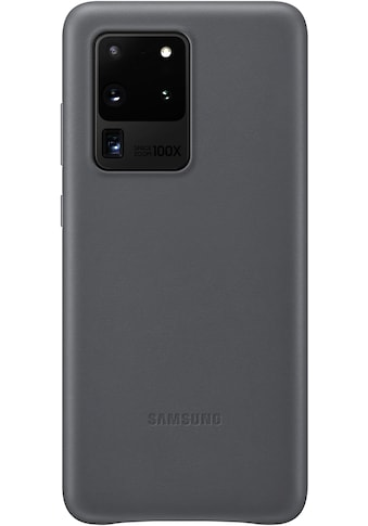 Samsung Smartphone-Hülle »Leather Cover EF-VG988«, Galaxy S20 Ultra 5G kaufen