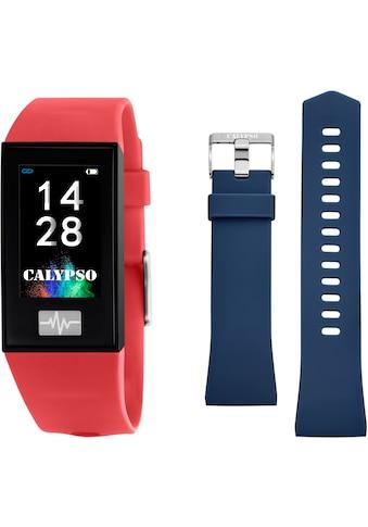 CALYPSO WATCHES Smartwatch »Smartime, K8500/4«, (mit blauem Wechselband) kaufen