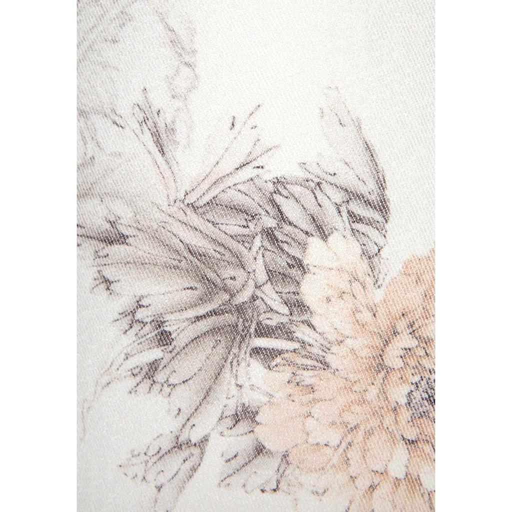 LASCANA 7/8-Jeggings, mit Blumenprint