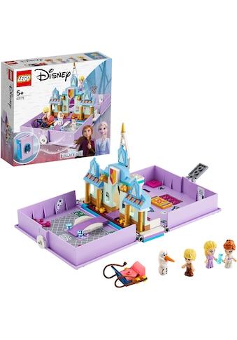 LEGO® Konstruktionsspielsteine »Annas und Elsas Märchenbuch (43175), LEGO® Disney Princess™«, (133 St.), Made in Europe kaufen
