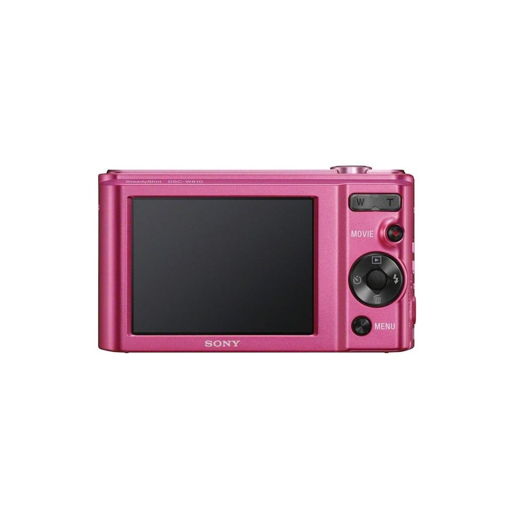 Sony Kompaktkamera »DSC-W810P Pink«