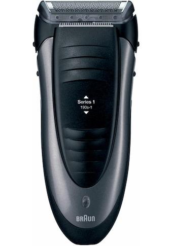 Braun, Elektrorasierer Series 1 190s - 1, Anzahl Aufsätze: 1, Langhaartrimmer kaufen