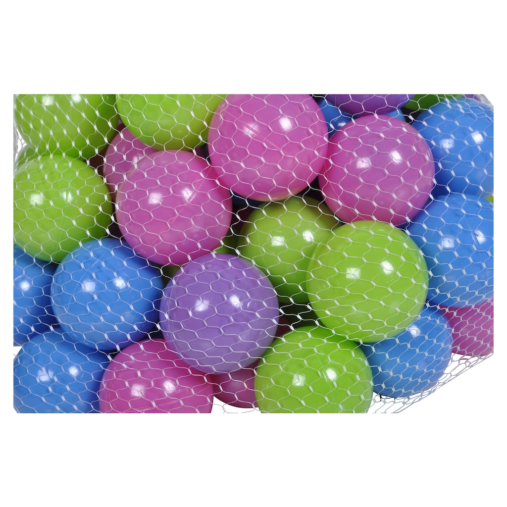 Knorrtoys® Spielball »Spielbälle Blau, KNORRTOYS.COM® (100 Stck.)«, (Packung, 1)