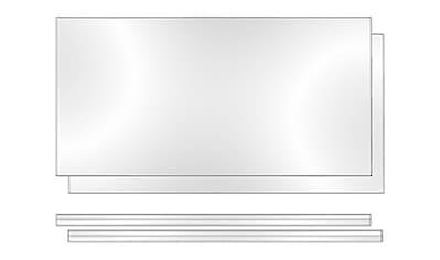 PHOENIX MÖBEL Rückwand »Altana«, B/H/T: 55.2 x 3 x 34 cm kaufen