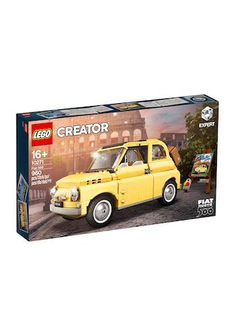 LEGO® Spielbausteine »Creator Fiat 500«, (960 St.) kaufen