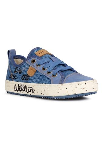 Geox Kids Sneaker »J Alonisso Boy« kaufen
