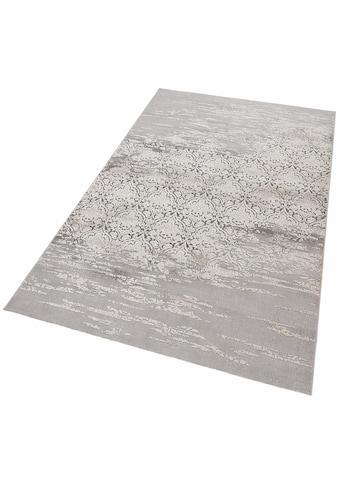 merinos Teppich »Danica«, rechteckig, 12 mm Höhe, Vintage Design, Hoch-Tief-Effekt, Wohnzimmer kaufen