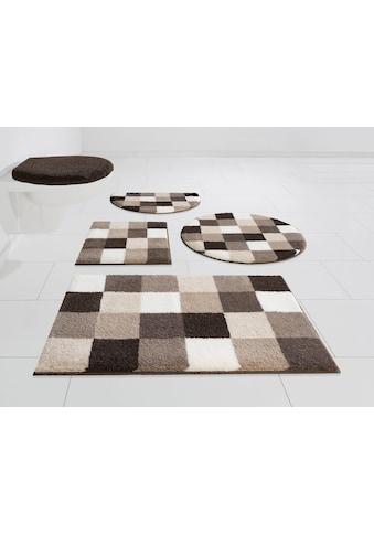GRUND exklusiv Badematte »Mosaik«, Höhe 20 mm, rutschhemmend beschichtet, fussbodenheizungsgeeignet kaufen