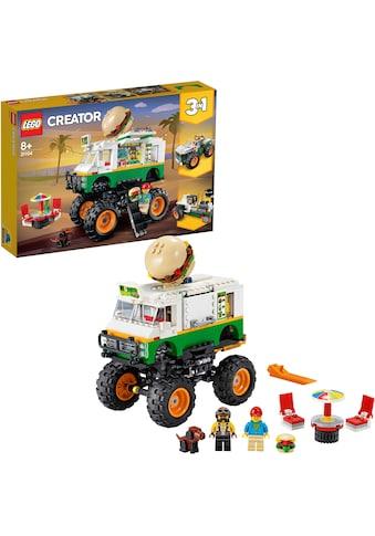 """LEGO® Konstruktionsspielsteine """"Burger - Monster - Truck (31104), LEGO® Creator"""", (499 - tlg.) kaufen"""