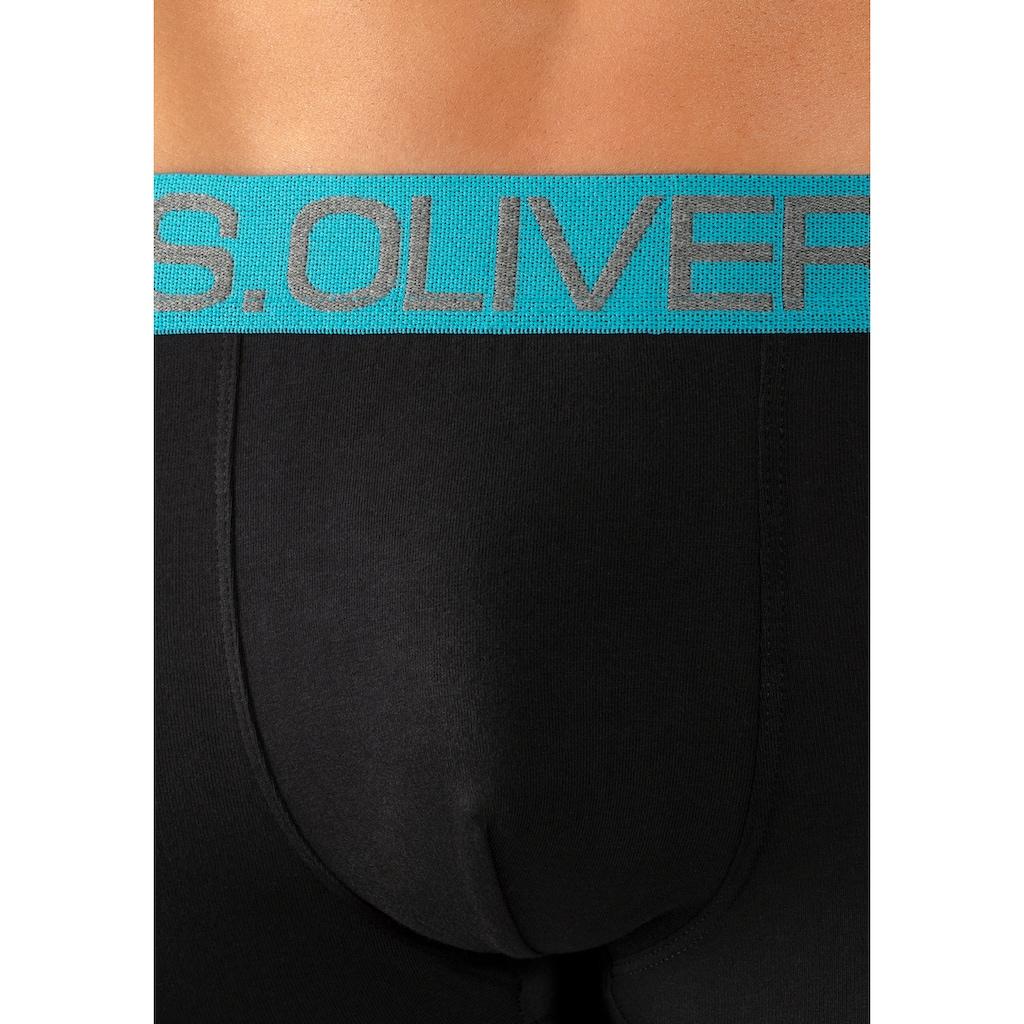 s.Oliver Bodywear Hipster, mit kontrastfarbenem Webbund