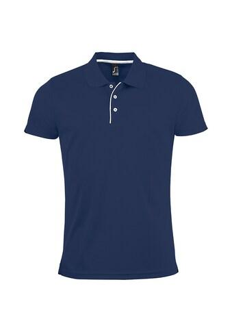 SOLS Poloshirt »Herren Pique Polo Shirt Performer, Kurzarm« kaufen