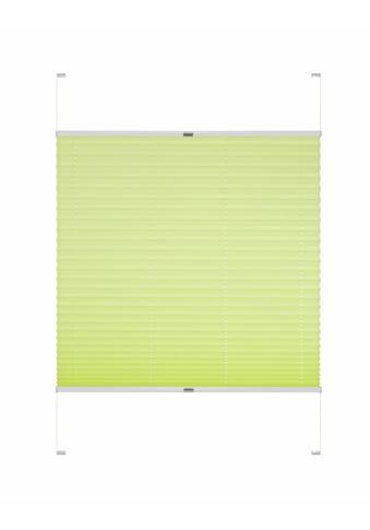 Good Life Dachfensterplissee nach Mass »Dena«, Lichtschutz, mit Bohren, verspannt, Schienenfarbe in silber kaufen