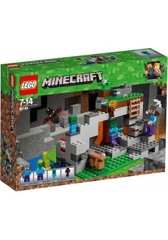 """LEGO® Konstruktionsspielsteine """"Zombiehöhle (21141), LEGO® Minecraft™"""", Kunststoff, (241 - tlg.) acheter"""