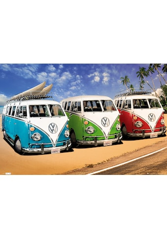 Home affaire Bild »VW Californian Camper - campers«, 90/60 cm kaufen