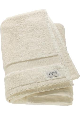 SCHÖNER WOHNEN-Kollektion Badetuch »Cuddly«, (1 St.), in unterschiedlichen Farben kaufen