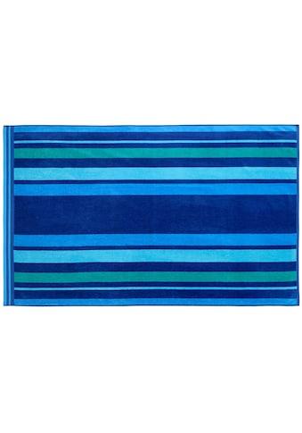Gözze Strandtuch »Streifen«, (1 St.), mit harmonischen Streifen kaufen