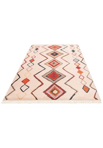 merinos Teppich »Kilim 80099«, rechteckig, 10 mm Höhe, Wohnzimmer kaufen