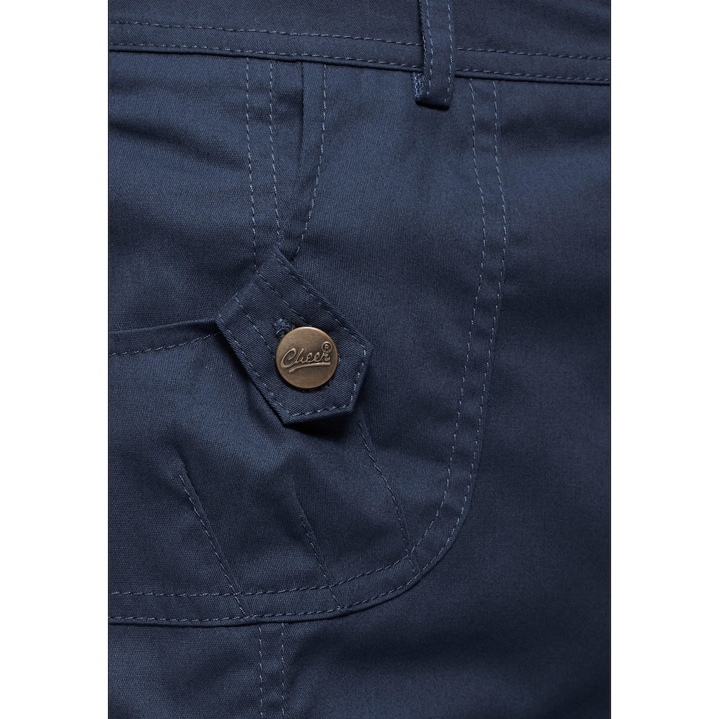 Aniston CASUAL Cargorock, mit figurfreundlichen Teilungsnähten