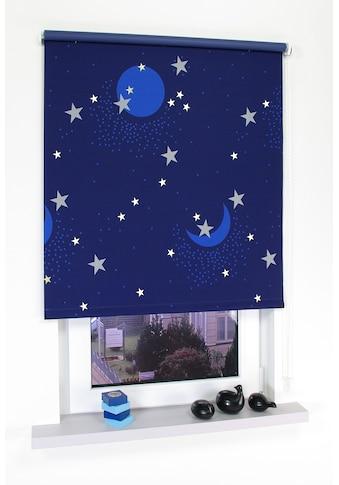 Seitenzugrollo »Sternenhimmel«, Liedeco, verdunkelnd, freihängend kaufen