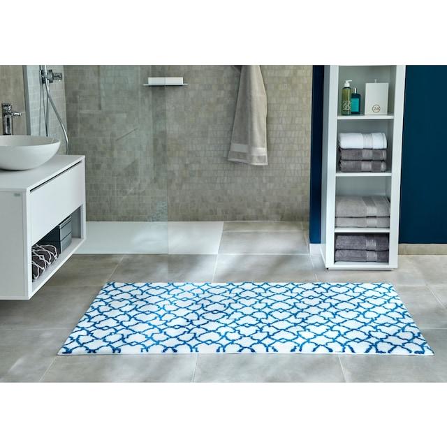 Badematte »Birdal«, Guido Maria Kretschmer Home&Living, Höhe 15 mm, rutschhemmend beschichtet, fussbodenheizungsgeeignet