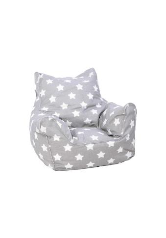 Knorrtoys® Sitzsack »Grey White Stars«, für Kinder kaufen