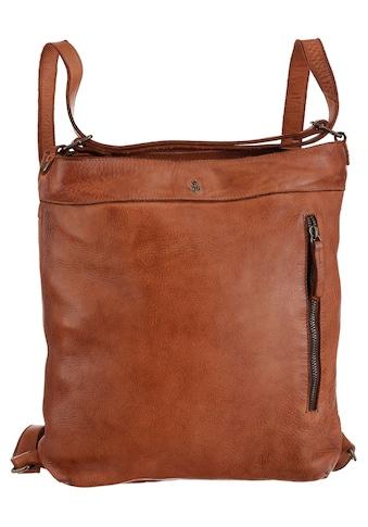 HARBOUR 2nd Cityrucksack »Nora«, aus Leder, auch als Tasche tragbar kaufen