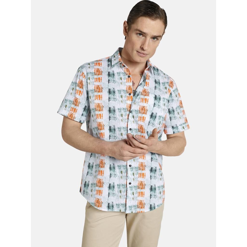 SHIRTMASTER Kurzarmhemd »icouldbeart«, Baumwollhemd aus Cotton Satin
