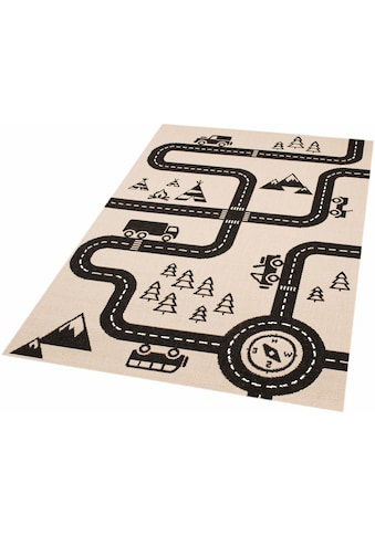 Zala Living Kinderteppich »Road Map Charly«, rechteckig, 4 mm Höhe, Strassen-Spielteppich, besonders weich durch Microfaser kaufen