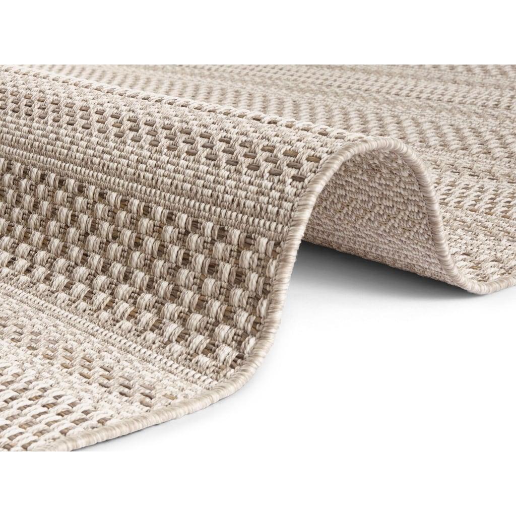 ELLE Decor Teppich »Arras«, rechteckig, 8 mm Höhe, Flachgewebe, In- und Outdoor geeignet, Wohnzimmer