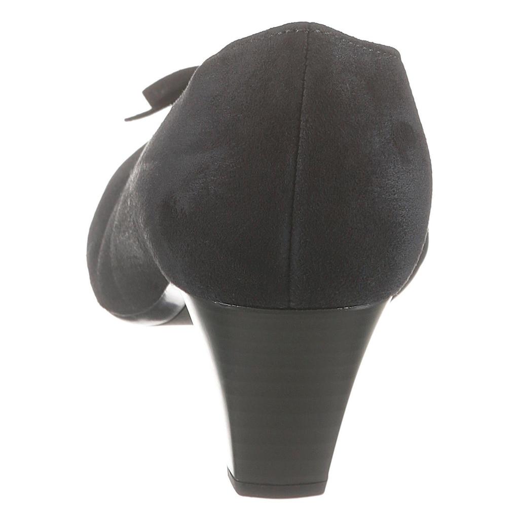 Gabor Pumps, mit süsser Zierschleife
