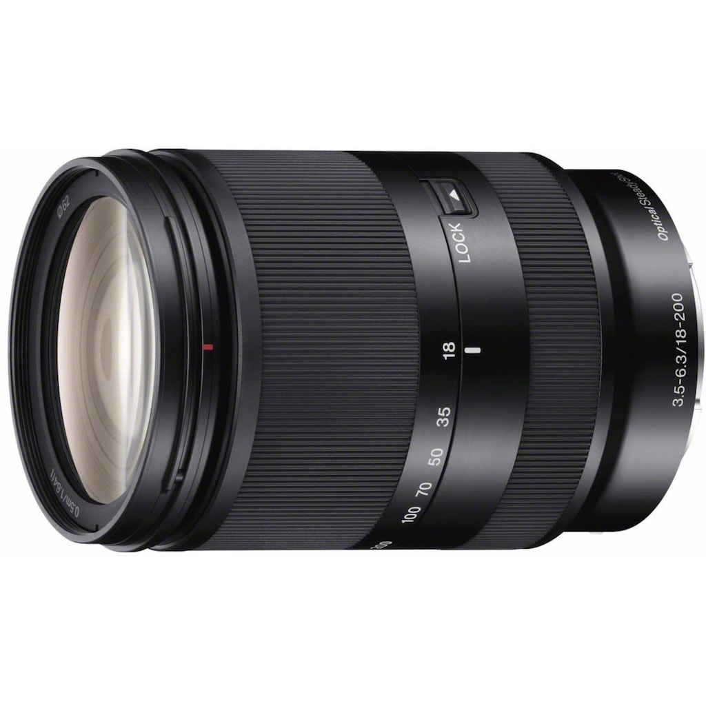 Sony Zoomobjektiv »SEL18200LE«