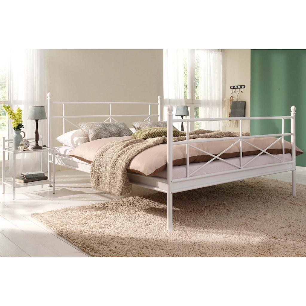 Home affaire Metallbett »Thora«, aus schönem Metall, in unterschiedlichen Grössen und Farben