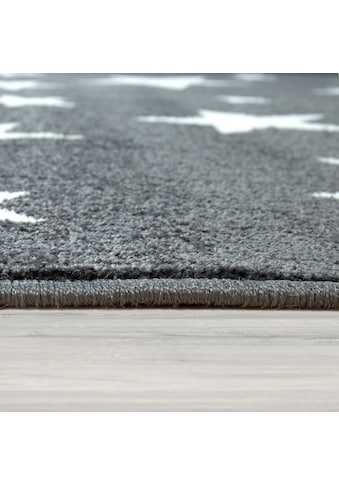 Paco Home Kinderteppich »Capri 315«, rechteckig, 9 mm Höhe, Kurzflor mit Stern Motiv,... kaufen