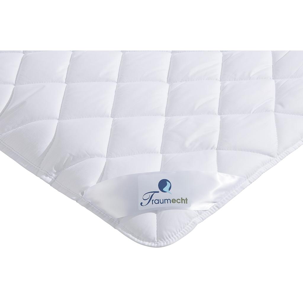 Traumecht Microfaserbettdecke »Melly«, extrawarm, Füllung Polyesterfaser, Bezug Polyester, (1 St.), gefüllt mit recycelter Fasern
