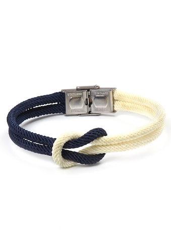 J.Jayz Armband »Seemannsknoten, maritimes Design, Biolor - Optik« kaufen