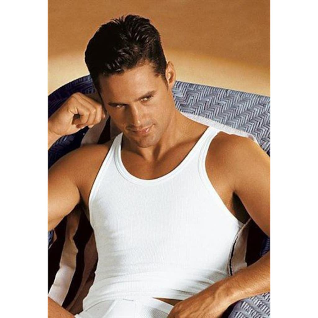 Schiesser Unterhemd, schlichtes Basic-Unterhemd in Top-Markenqualtiät